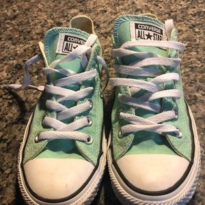 Converse Mint Green Sneakers💙